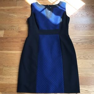 Tahari Career Shift Dress 0176